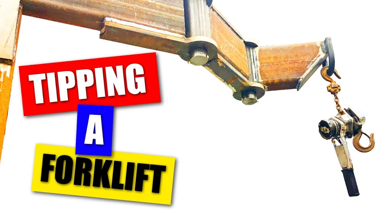 Building a Forklift Boom Attachment