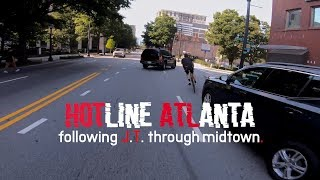 Hotline Atlanta - Following J.T. Through Midtown - Fixed Gear