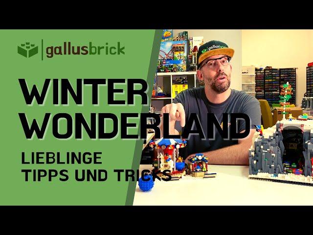 Mein Lieblings LEGO Winter Set | Meine Eigenkreationen | Elfenhöhle MOC | Vorgestellt
