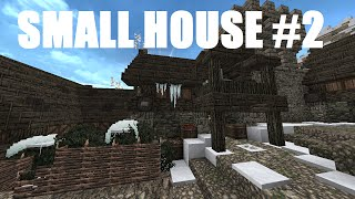 Minecraft: Frozen Island: Small House #2