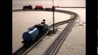 Marklin Train Set Video