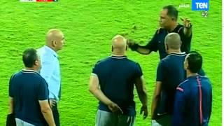 اتحاد الكرة يقرر إيقاف حسن حسن لاشتباكه مع مدرب المقاصة (فيديو)