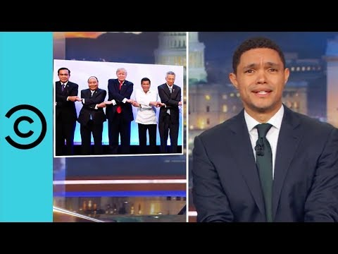 Trump's Bromance With The President Of The Philippines | The Daily Show