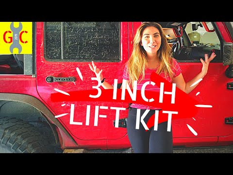 Most Affordable 3 INCH Lift Kit for Jeep Wrangler DIY INSTALL and review | MotoFab Lift