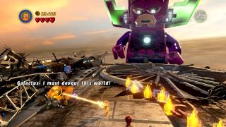 Lego Marvel Super Heroes (PC) walkthrough - FINAL BOSS - Galactus