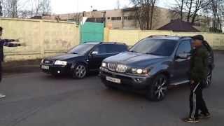 BMW X5 e53 4.4i vs Audi S6 4.2FSI