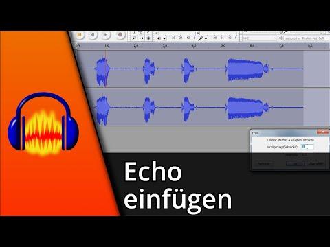 Audacity Tutorial | Echo erstellen [Deutsch/HD]