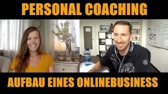 Live-Coaching Teil #01 (Katrin - Aufbau eines Onlinebusiness)