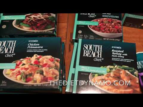South Beach Diet Meal Review [2018] All of the Frozen Meals, Snacks, & Shakes