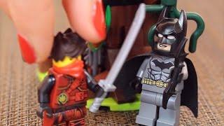 LEGO NINJAGO ODCINEK - Kai uwalnia Batmana w Ataku Cynobru - bajka