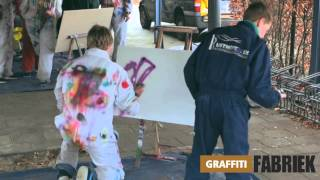 graffiti-fabriek - graffiti workshop als schoolactiviteit