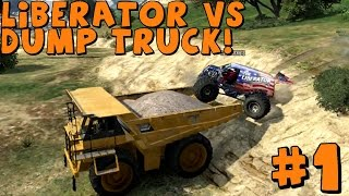 GTA 5 Multiplayer | with AR12Gaming | Liberator and Giant Dump Truck!