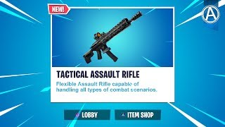 "NEW ""TACTICAL ASSAULT RIFLE"" UPDATE! // 2100+ Wins // Code: byArteer (Fortnite Season 9 LIVE)"