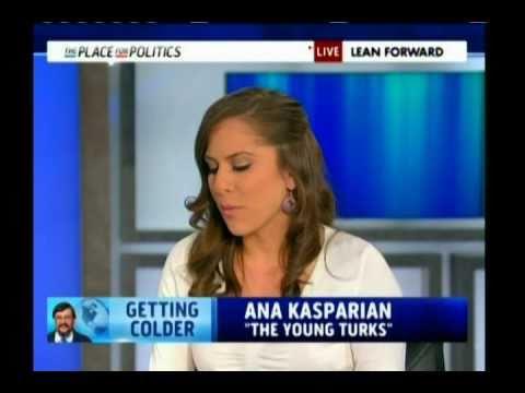 Ana Kasparian's MSNBC Debut w/ Cenk! - YouTube