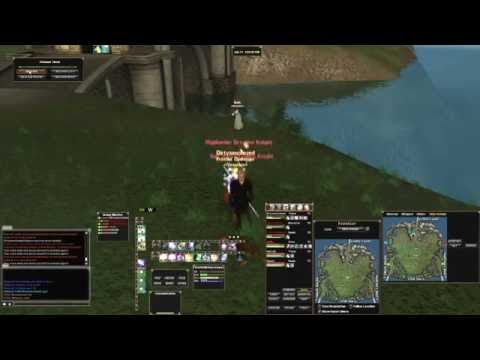 Guild Group Live Streaming While Radaring in DAOC