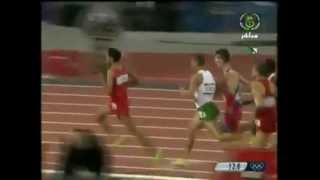توفيق مخلوفي  يفوز بذهب سباق 1500 متر لندن 2012