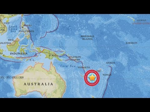 MAJOR 6.8 MAG New Caledonia Earthquake -Soda Springs Idaho Seismic Geology Explained