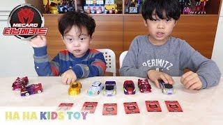 터닝메카드 그리핑크스 그리폰 스핑크스 바벨 모스톤 메가 신제품 메카드와 속성 확인하기 turning mecard car robot toy 하하키즈토이
