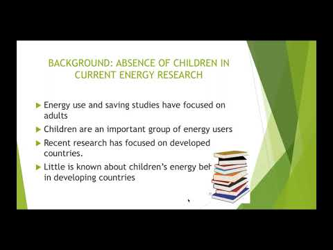 Webinar - Energy Access, Education and Young People