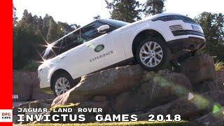 Invictus Games 2018 With Jaguar Land Rover