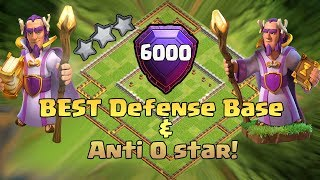 BEST TH11 STRONG DEFENSIVE LEGEND BASE 2017 REPLAY(6000 TROPHY BASE)ANTI 0 STAR BASE/ANTI EVERYTHING