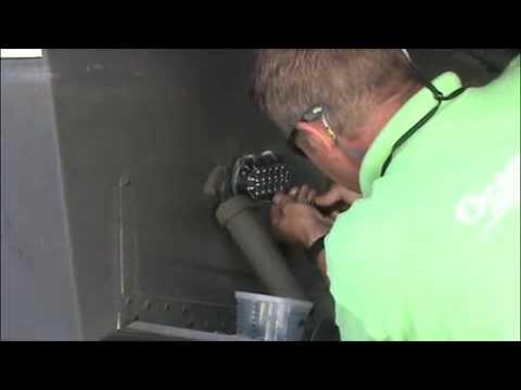 OceanLED TV-Captain Ky-Amphibian Install on a 44 Riveria
