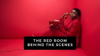 All Red Photoshoot with EVA APIO | Fashion Photography Behind The Scenes