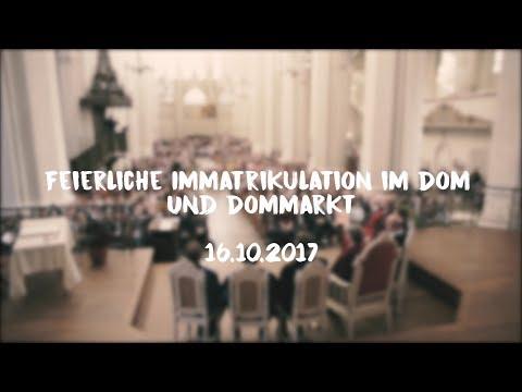 Feierliche Immatrikulation und Dommarkt am 16.10.2017
