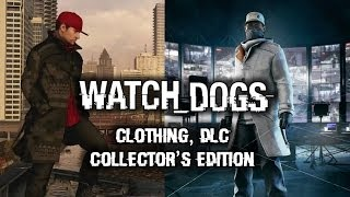 Watch Dogs Clothing & Multiplayer Outfits, DLC Season Pass, Dedsec Collector