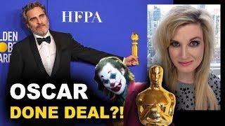 Joaquin Phoenix Golden Globes 2020   Best Actor Oscar?