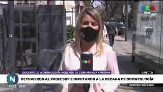 Detuvieron al profesor de odontología acusado de extorsión