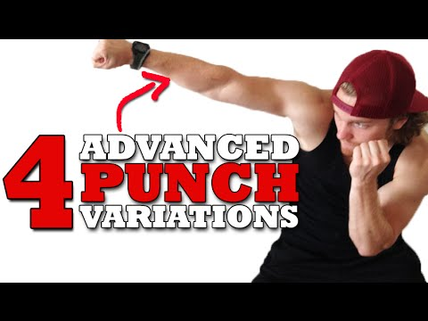 4 Advanced Boxing Punch Variations
