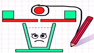 Happy Glass - Gameplay Walkthrough Part 6 Level 156 - 182 - DRAW A LINE TO FILL THE GLASS