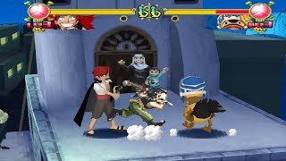 One Piece: Grand Battle! 2 [PS1] - play as Shanks