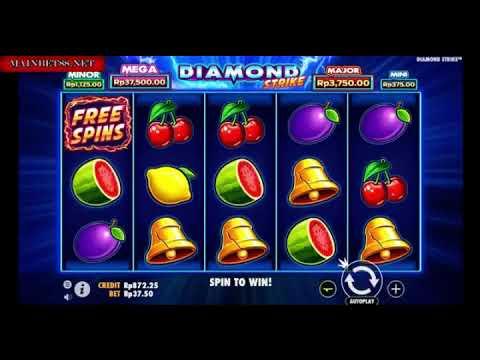 Tips & Trik Cara Menang Permainan Slot Pragmatic Diamond Strike 100% Work