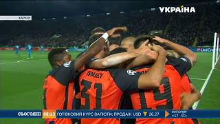 «Шахтар» подолав команду «Наполі» у матчі першого раунду групового турніру Ліги Чемпіонів