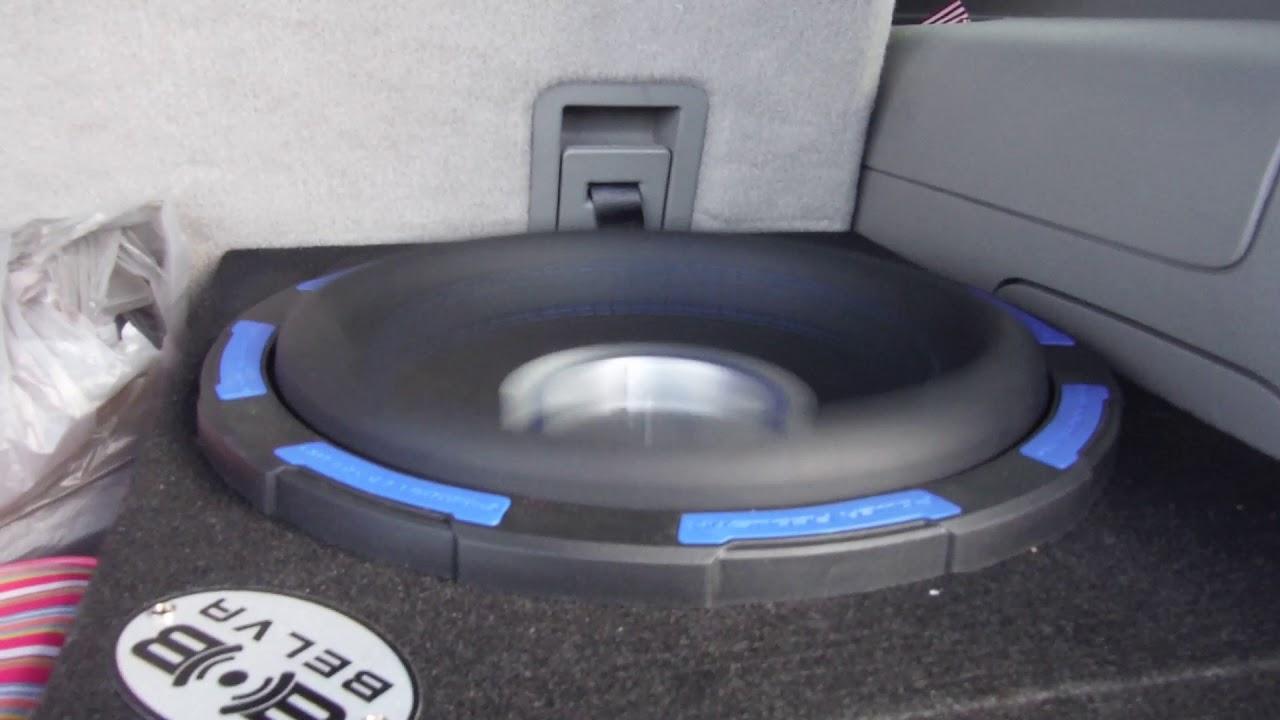 Power Acoustik Gothic X2 Subwoofer Slammin X JL Audio 12W6V2