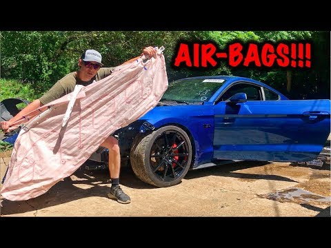Rebuilding A Wrecked 2017 Mustang GT PART 3