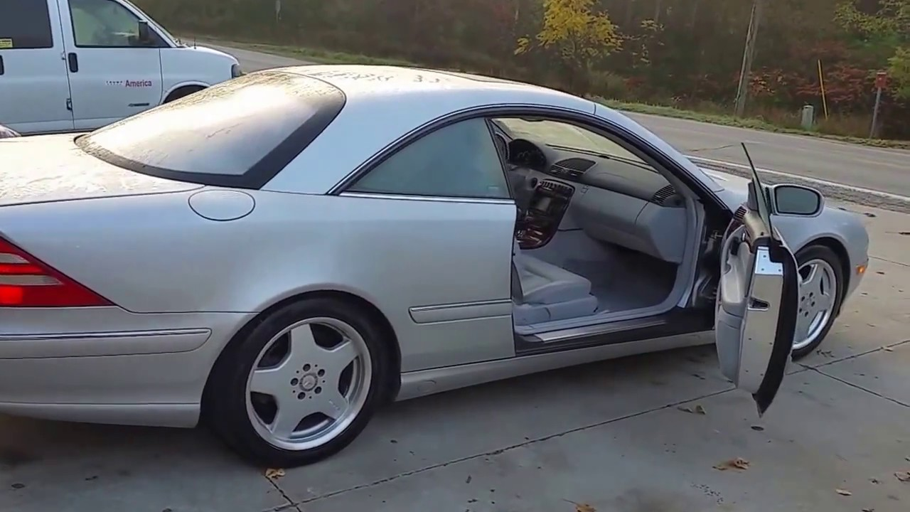 2002 Mercedes CL500 much Better QUALITY than a BMW - YouTube