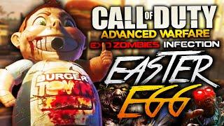 EXO ZOMBIES INFECTION | Cómo hacer el Easter Egg (Logro/Trofeo: LA CARNE ES MUERTE - ACTIVA A BUBBY)
