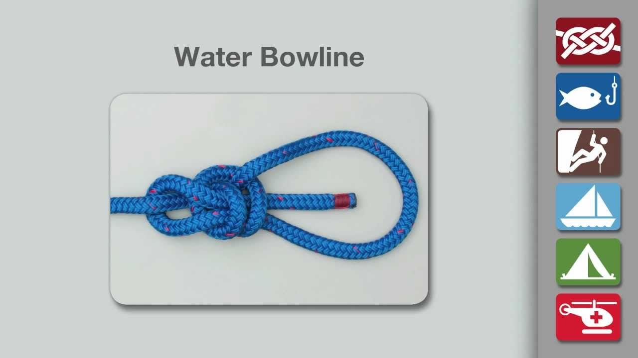 Water Bowline  How To Tie A Water Bowline Knot