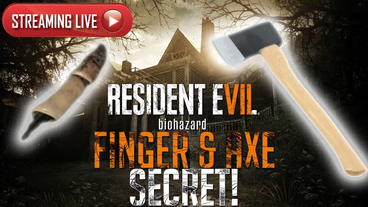 Resident Evil 7 Demo Finger