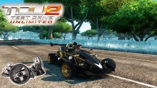Test Drive Unlimited 2 - Ariel Atom 500 V8 Mta aceleração!!!
