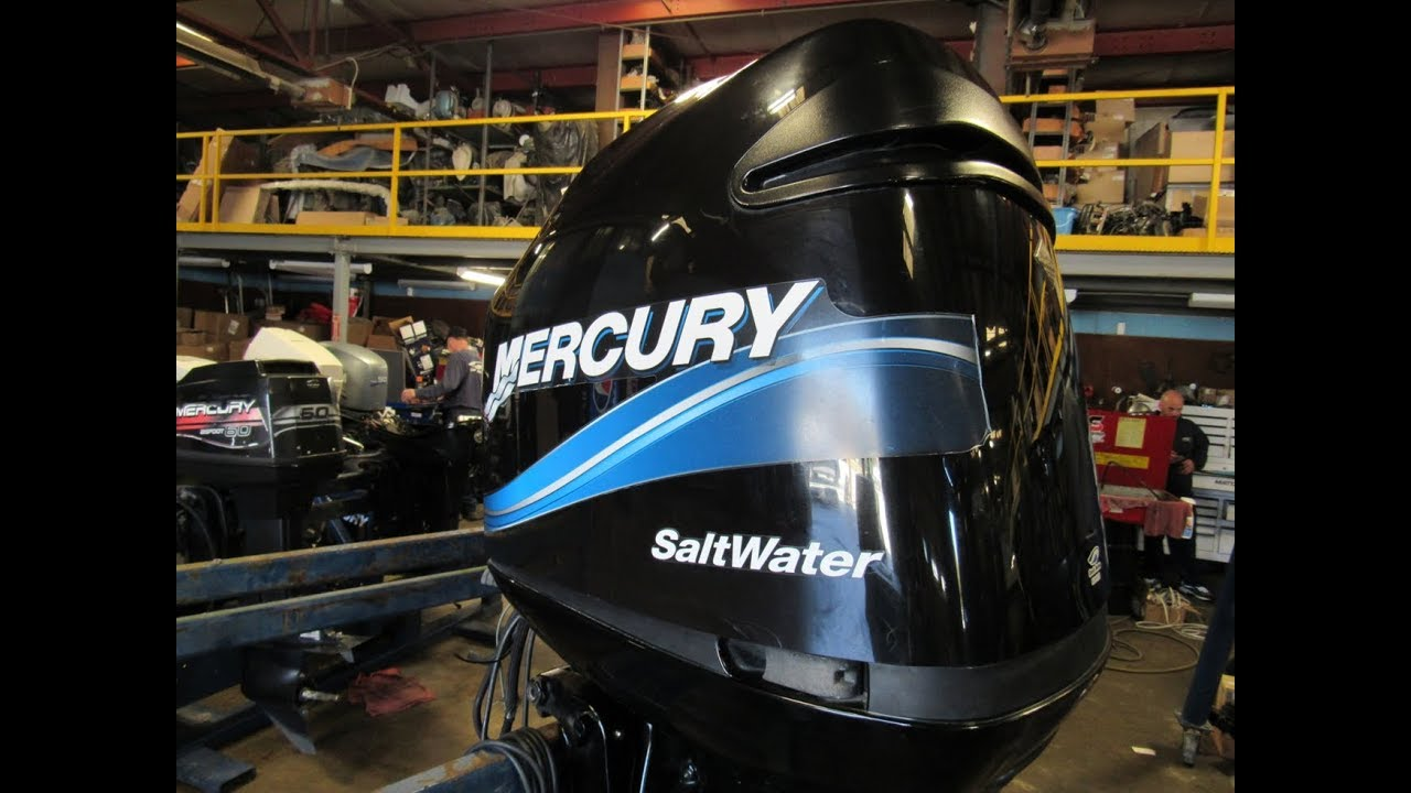 Used 2004 Mercury 200HP Outboard 200XL OptiMax 25