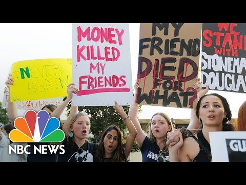 School Shooting Survivors Say 'We Call BS!' Hundreds Rally Against Gun Lobby | NBC News