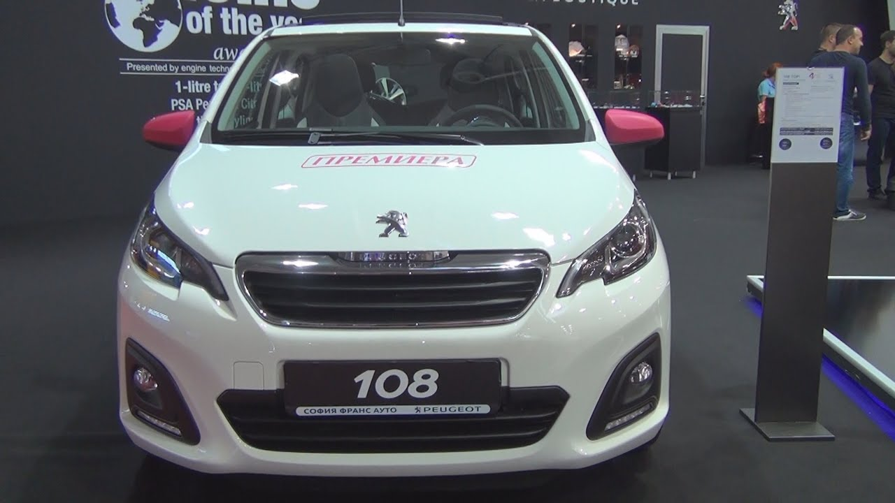 peugeot 108 top active 1 0 vti 68 etg5 euro6 2016 exterior and interior in 3d youtube. Black Bedroom Furniture Sets. Home Design Ideas