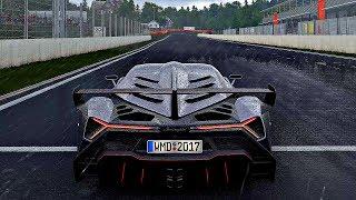 Project CARS 2 - Gameplay Lamborghini Veneno @ Spa-Francorchamps [4K 60FPS ULTRA]