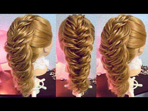 Объёмная коса - Уникальная техника - Hairstyles by REM