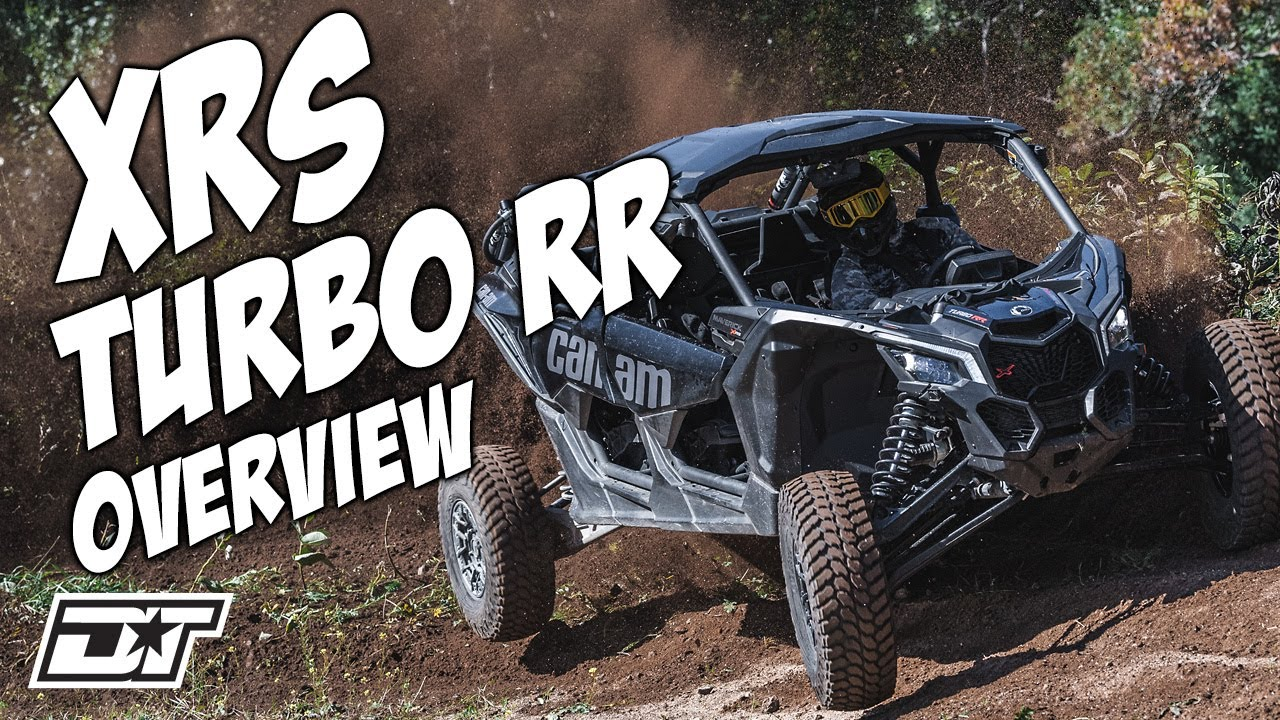 Download Can Am Maverick X3 Max X RS Turbo RR with Smart-Shox Detailed UTV Overview