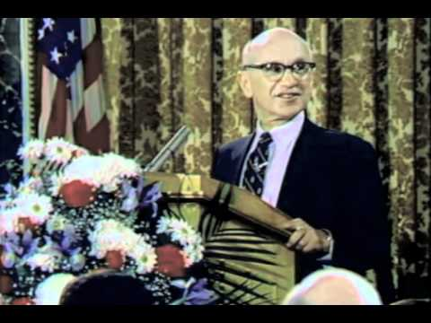 Milton Friedman - Orwellian Newspeak